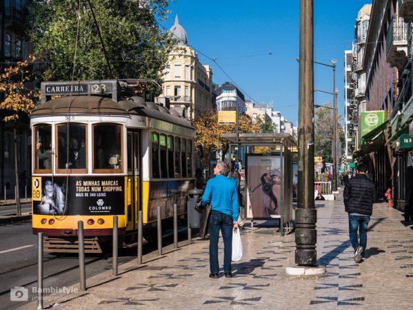 Lissabon und die Straßenbahn