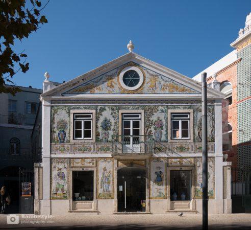 Lissabon Gebäude
