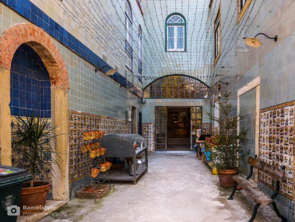 Lissabon Kunsthandwerk Laden