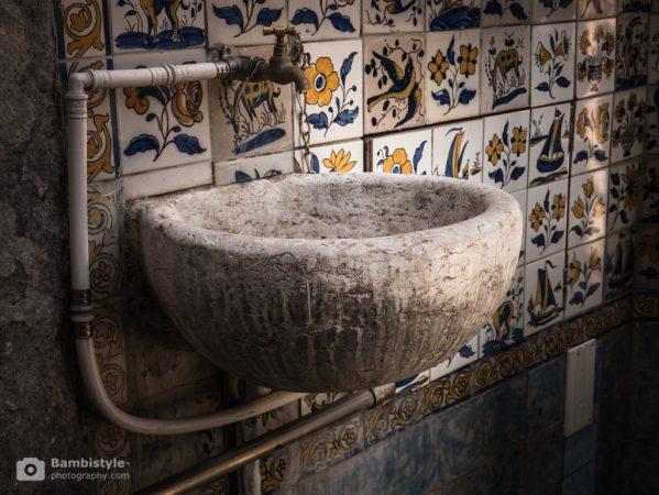 Lissabon Waschbecken