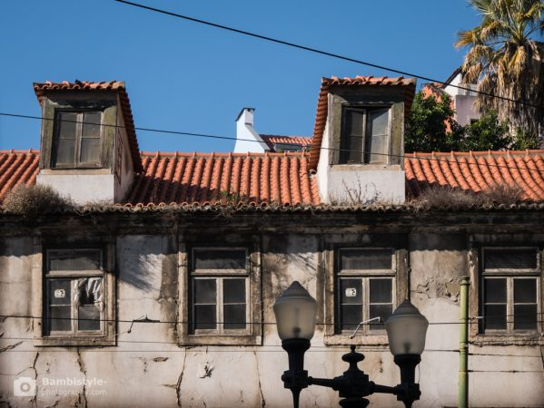 Lissabon Straßenlaternen