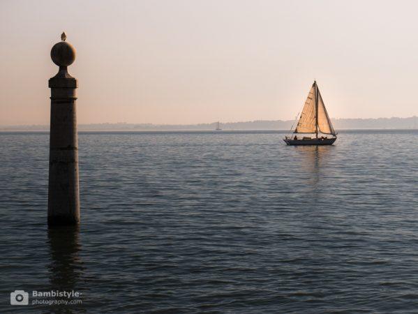 Lissabon Segelboot