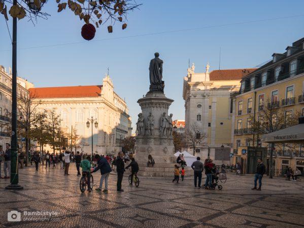 Lissabon Praça Luís de Camões