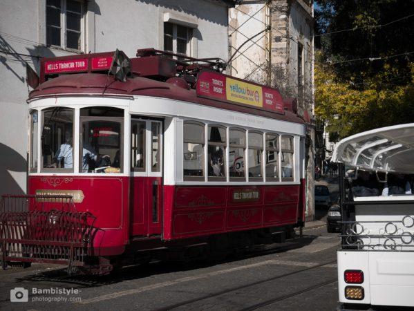Lissabon Straßenbahn Rot