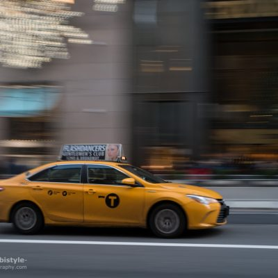 New York City 5th Avenue Taxi