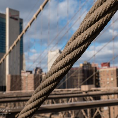 New York City Brooklyn Bridge Seil