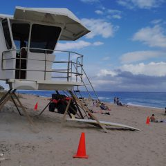 Florida Ostküste Rettungsschwimmer