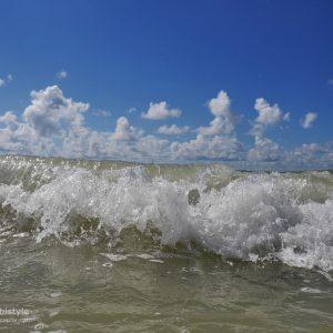 Florida Wellen auf Marco Island